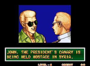 """""""John. O canário do presidente está sendo mantido refém na Syria"""" - Viram o que pode acontecer se sequestrarem o canário presidencial? Anos depois o Saddam Hussein sequestrou o canário do Bush, o que ocasionou uma guerra sem precedentes."""