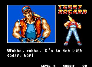 """Wubba, wubba. Estou no rosa hoje, garoto!"" - Ai, ai, ai, ui, ui..."