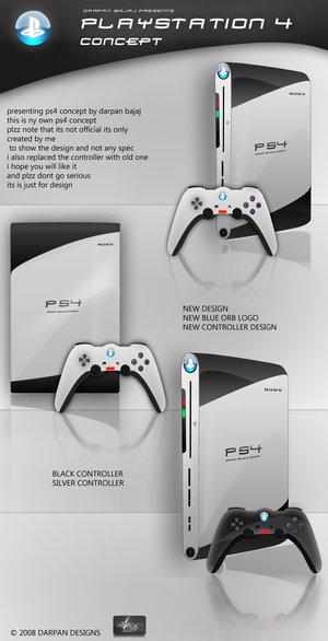 """E finalizando, temos o próximo Playstation com o controle bumerangue do Playstation 3 apresentado na E3 2006. Quê? Voc~e achou que eles abandonariam aquele controle """"fenomenal""""?"""