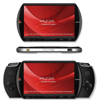 O Sucessor do PSP exibiria um design muito bonito e botões retráteis, mas a exemplo de seu sucessor a tela fica exposta a riscos horríveis.