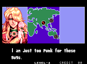 """""""Eu sou muito punk para esses caras."""" - Batom, rosa entre os dedos e cabelo de mulher. O cara parece mulher e se acha muito punk? Imagine se ele fosse emo..."""