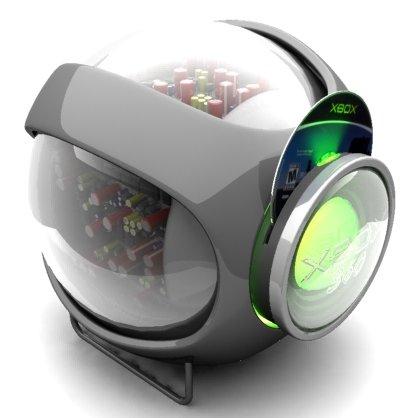 Viram? O 360 era pra parecer uma webcam, assim o Project Natal seria lançado com o console!