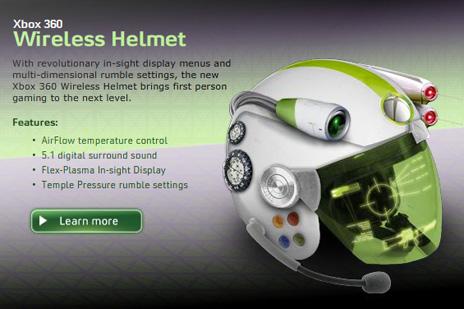 Project Natal? Esqueça o futuro está no X360 Helmet, ele vai controlar seu cérebro e te colocar na Matrix.