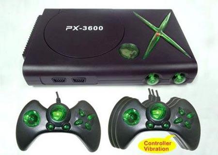 Xbox 360? Controle sem fio? Desing clean? Controle confortável? Esqueça tudo isso! O PX3600 não tem nada disso e, reza a lenda, tem gráficos do Atari 2600!