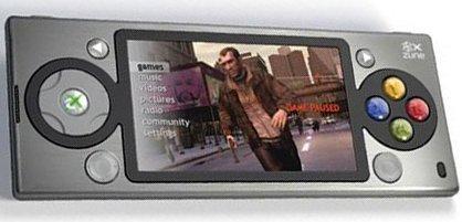 Este nem devia valer, pois é o Zune com os botões do 360 e GTA na tela, de qualquer forma sempre vai ter alguém que acredita (será?).