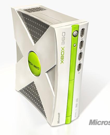 Observe bem antes de dizer que é o 360. Reparou nas quatro entradas para os controles do 1º Xbox ausencia ausência de HD? Muita criatividade...