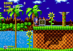 """Como esquecer a saudosa """"música do Sonic""""."""