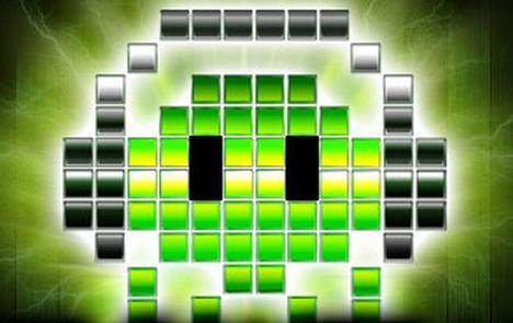 Este é o logo do espetáculo Videogames Live, evento que conta com uma orquestra para tocar músicas dos games!