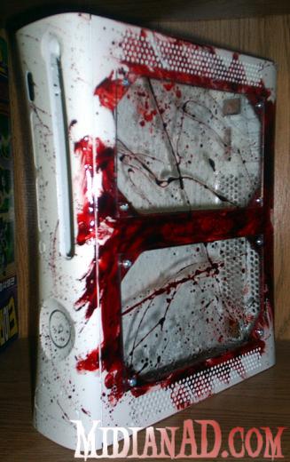 Videogame incentiva a violência? Mas claro que sim, neste modelo o sangue jorra de todos os lados.