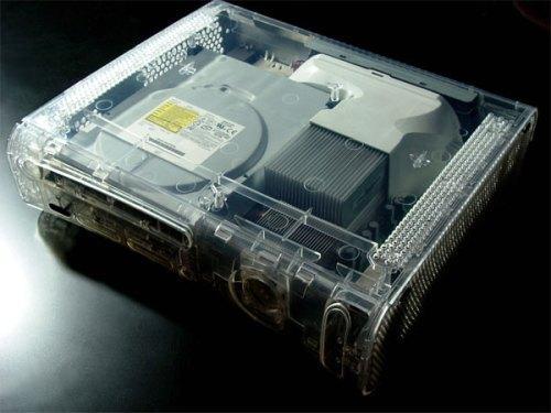Ideal para aqueles que sempre quiseram saber como é um X360 por dentro, sem precisar abrir.
