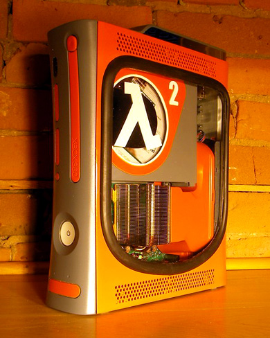 Essa versão homenageando Half Life é uma das mais legais já criadas, quem sabe não dão um action figure do Gordon Freeman...