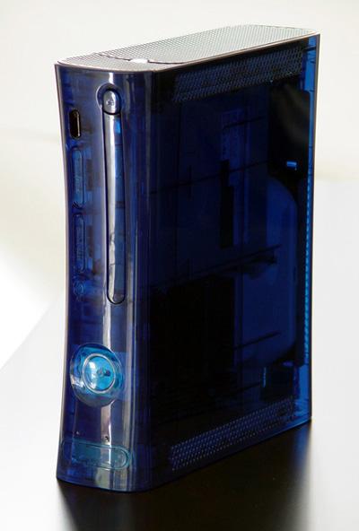 E eu achava a versão Ocean Blue do Playstation 2 legal... este aqui tá ownando muito.