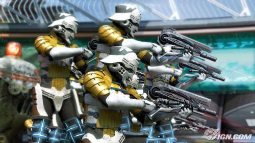 Se Star Wars fosse japonês estes seriam os Stormtroopers, não é?