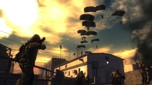 Todos os soldados acima são controlados por jogadores durante o evento, difícil vai ser convencer 256 japoneses a jogarem um FPS.