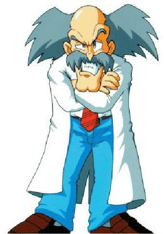 Também conhecido como cientista doido...
