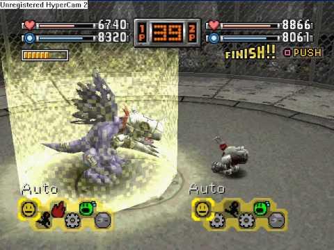 Existe também um modo de batalha na arena para dois jogadores, cada um com seu próprio save.