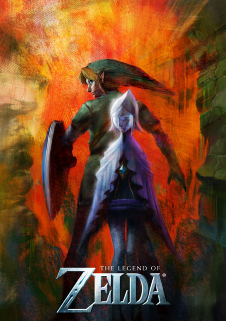 new zelda art